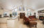 Open Great Room with Vaulted Ceilings