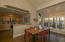Dining and kitchen with beautiful South facing views.