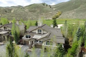 Located on the golf course with mountain views