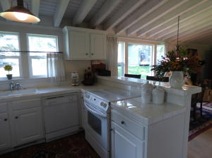 Beautiful modern white kitchen