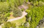 Lush grounds provide privacy