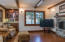 Living space and entertainment nook