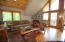 Cabin comes fully furnished and ready to enjoy