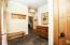 Mud room with slate tile flooring