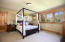 Spacious master suite has a large walk in closet