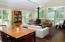 Dining and living area, a great open space for entertaining and easy living.