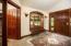Entry with oversized coat closet