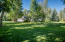 Large shaded lawn