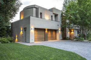 Warm modern architecture