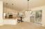 High ceilings, Glass Sliding Doors, Great Light, Open Area