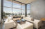 Spectacular views from floor to ceiling windows