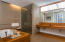jetted tub and separate steam shower