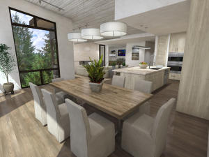 Morning Dew Penthouse in Linen Interior Design. Go to www.onyxsunvalley.com