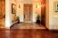 Entryway with Beautiful Reclaimed Wood Door