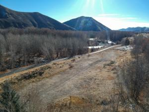 Overlooking River & Bike Path