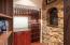 Hidden Wine Cellars behind book shelves