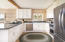 Stainless appliances, Levantina granite counter tops