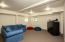 Finished basement is perfect for media or recreation room