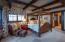 Main level master suite