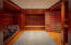 """Ski Locker"" room between garage and main foyer"