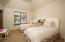 Guest room en suite on separate E wing of the home with Guest master