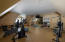 Upstairs flex space 1222 sq ft Currently used as an office and exercise room