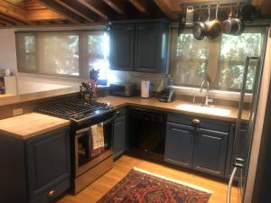New appliances and painted cabinets