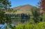 Overlooking Sun Valley lake and Dollar Mountain