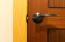 Interior doors are Solid African Sapele wood