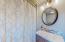Master Bathroom. Tub/Shower Combo.