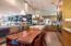 Kitchen with informal dining