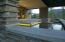 Reflecting pool flows by office/guest veranda