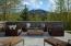 Guest suite patio views of Griffin Butte
