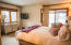 Guest bedroom with veranda accesss