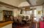 Fabulous barrel plaster ceiling