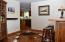 Adjoining room next to kitchen and living area! Possibilities are endless!