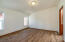 This is a large bedroom with a walk in closet and ensuite bath.