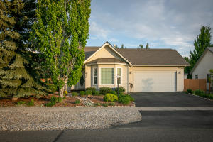 Charming single level home with front bay window