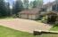 Paved driveway / Garage