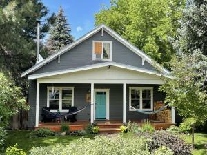 On a quiet street in Bellevue, enjoy your bungalow home.