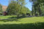 Large yard for play area and pets