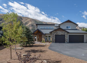 Mountain modern new construction completed 2021