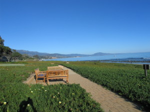 Walks on exclusive Montecito Beach and time for 'Rest and Relaxation'.