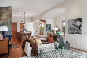 Open California Living at its best. Bathed in natural light with soaring ceilings