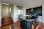 Sleek custom kitchen with Italian cabinetry