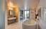 Master Bathroom with German cabinetry and soaking tub
