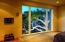 Oak tree at twilight outside Master Bedroom window
