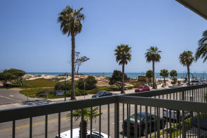 One of only 6 condos with a private balcony overlooking Carpinteria State Beach!