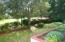Gardens overlooking the 12th fairway