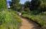 walkway between private lower retreat areas